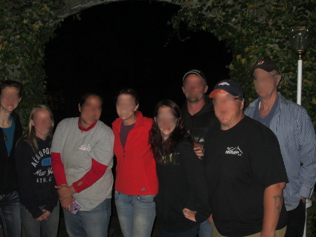 The Gang of Would-Be Ghost Hunters