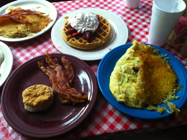 I'm pretty sure that Marvin's breakfasts are the number one cause of the deadly sin of gluttony.