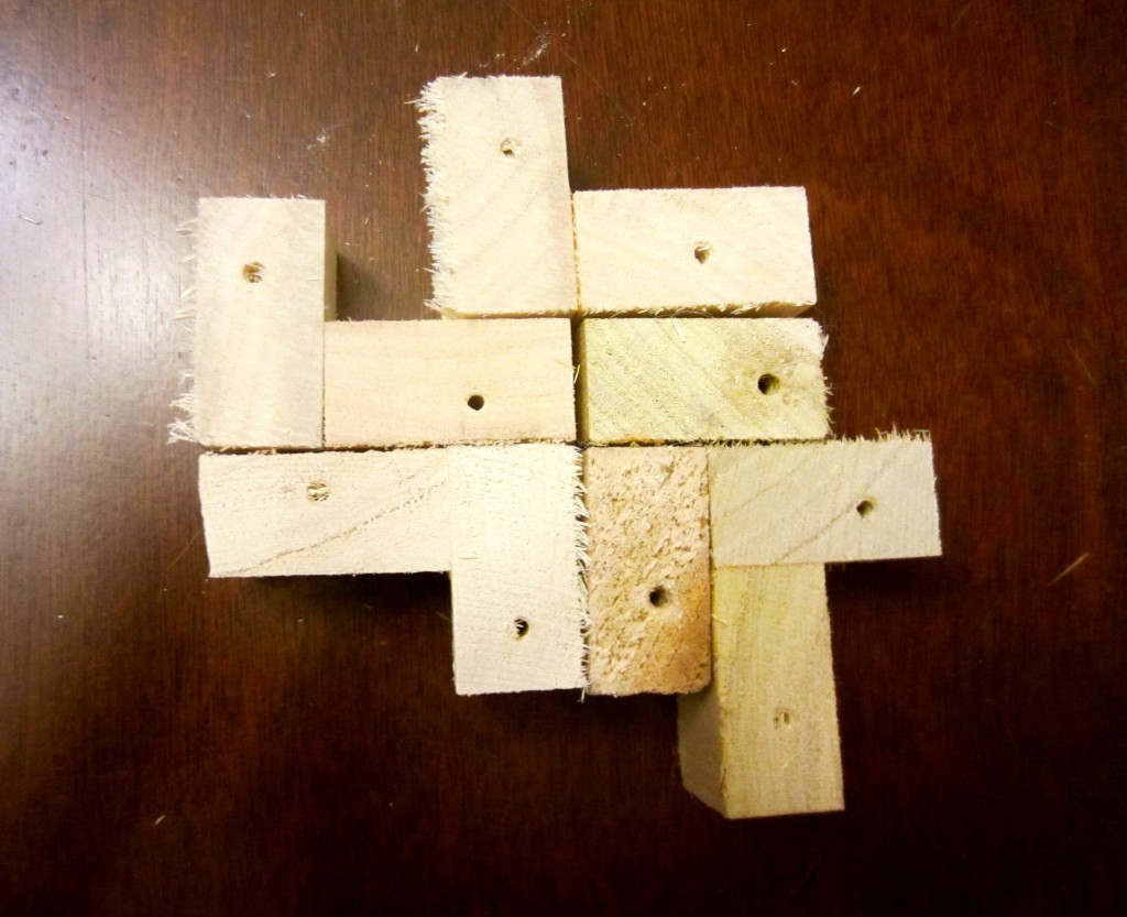 I then played Tetris for days with the scraps on my kitchen table